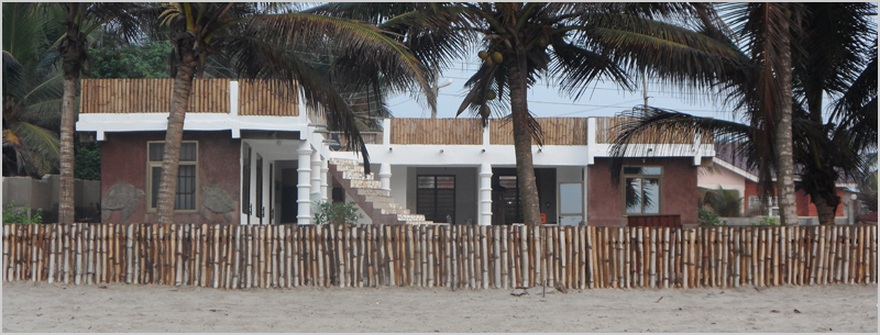 Turtle Beach Guest House - from the beach